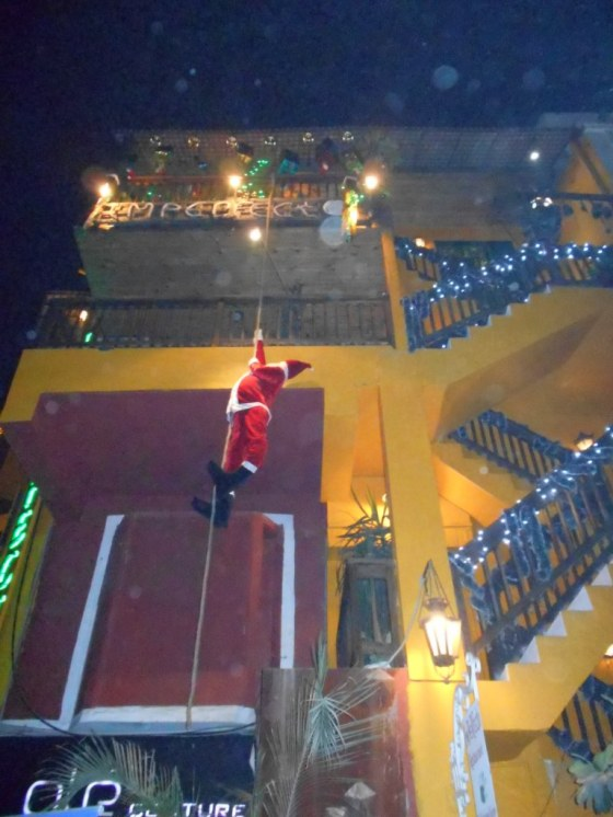Go home Santa, you are drunk!