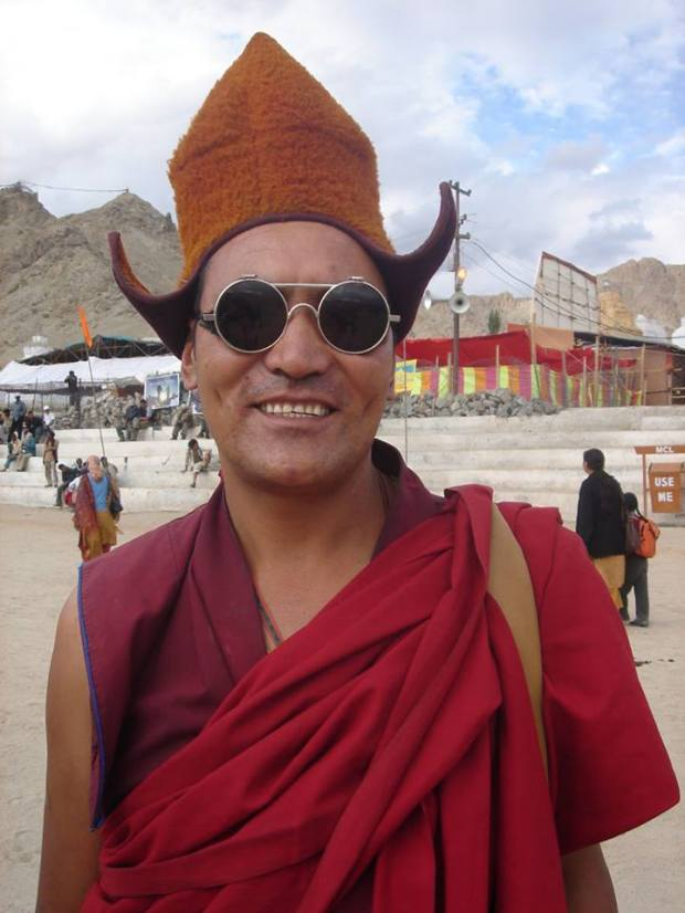 a guide in Ladakh