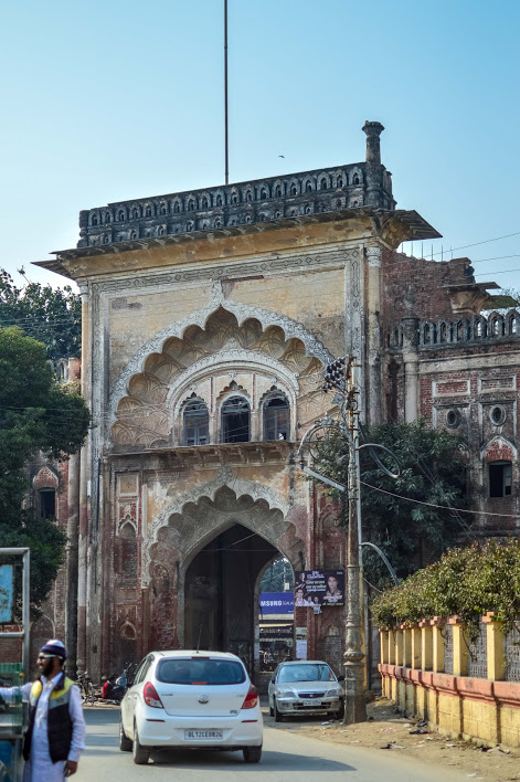 The gate for the Rampur Fort