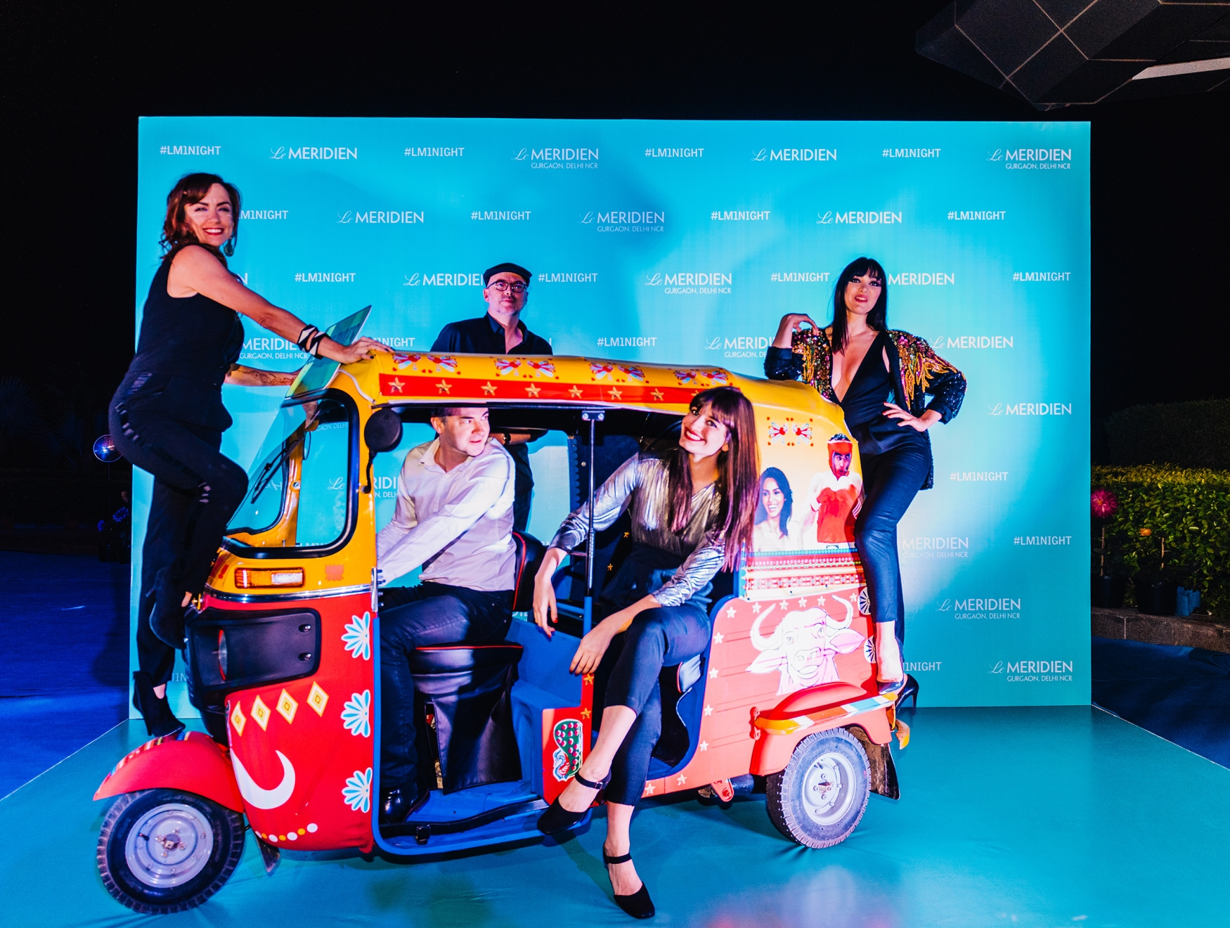 French Bossa Nova Band Nouvelle Vague performing at the launch of Le Mer...-3