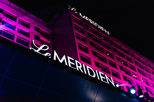 Night view of Le Meridien Gurgaon