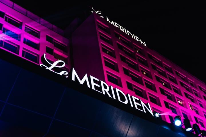 Night view of Le Meridien Gurgaon